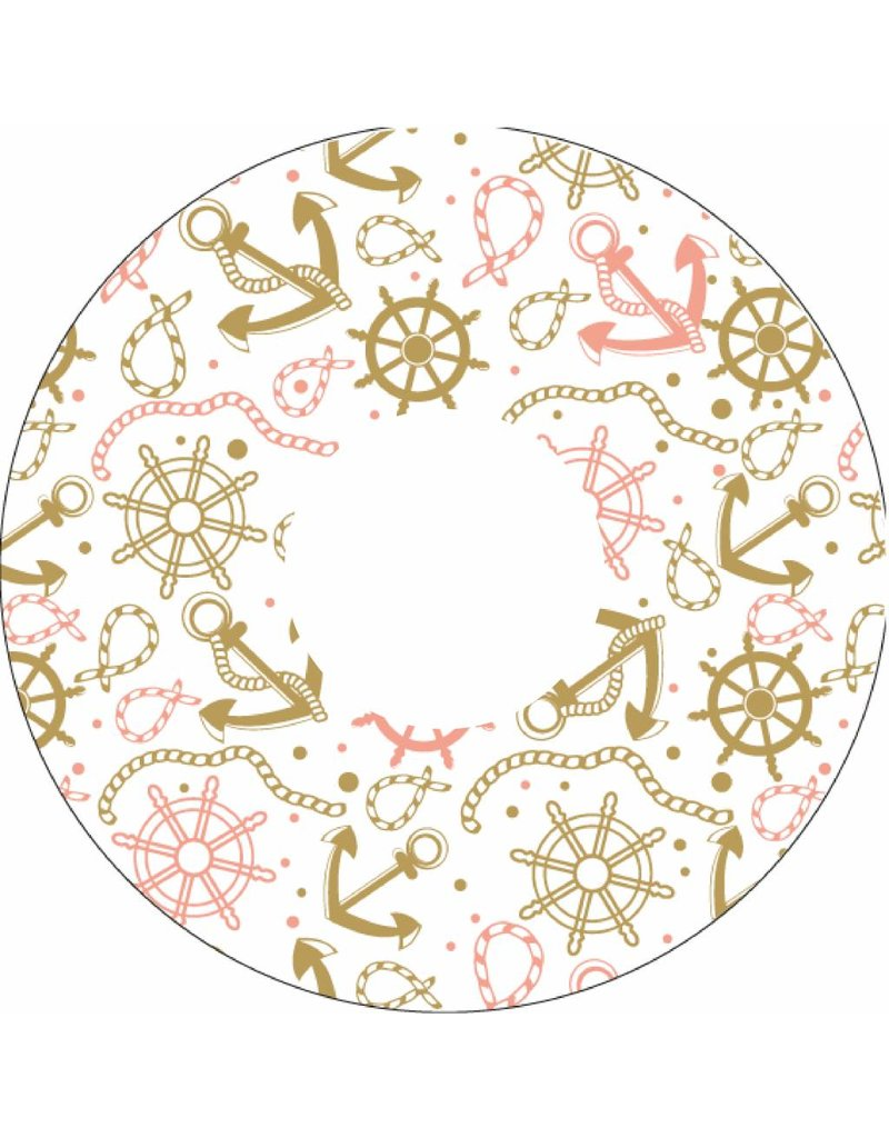 Spoke protector pastel anchors and send print