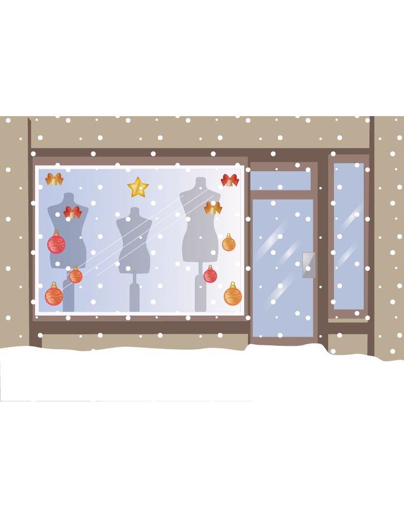 Weihnachtskugeln eingestellt