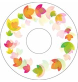 Spoke protector floral circle