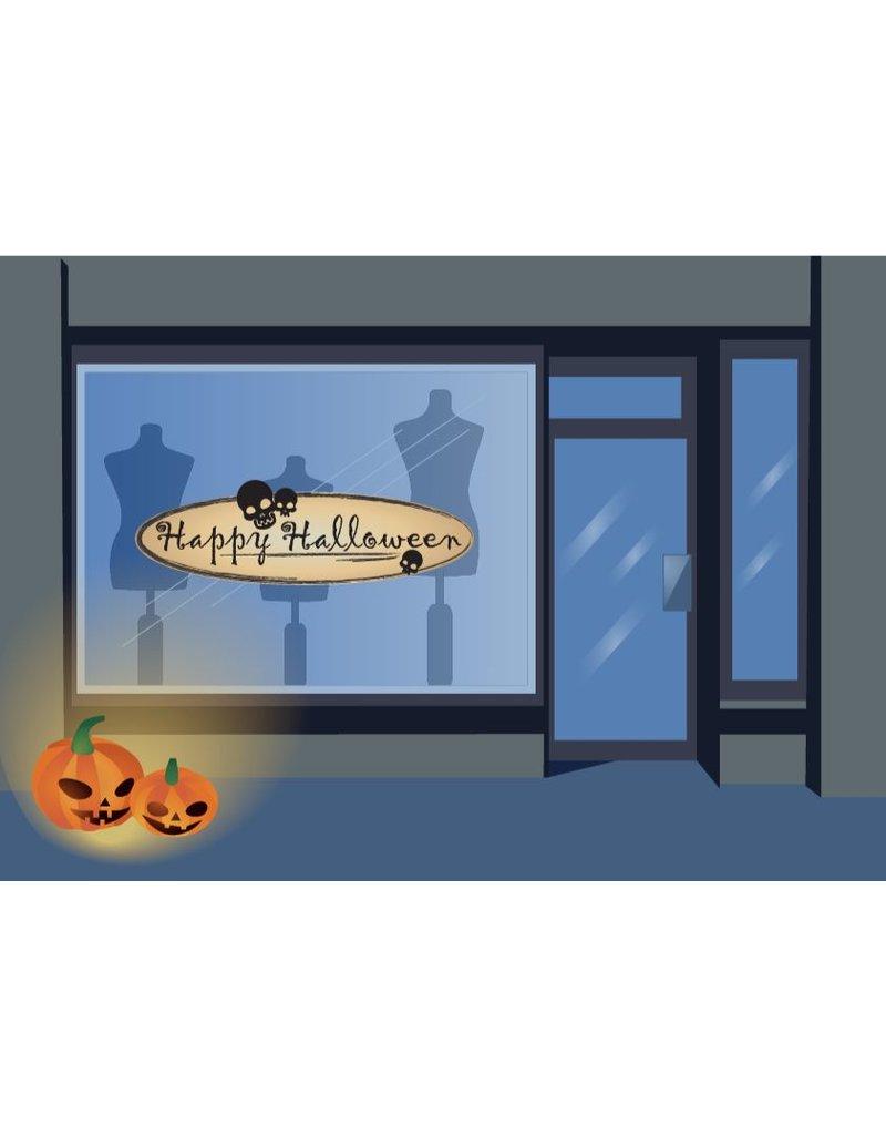 cráneos del feliz Halloween
