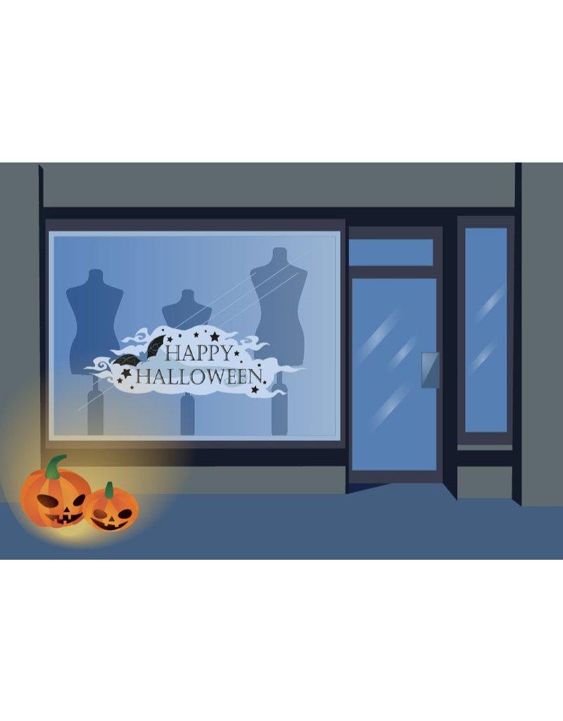 Happy Halloween Vollfarbe