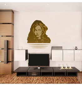 Wall Sticker Adele