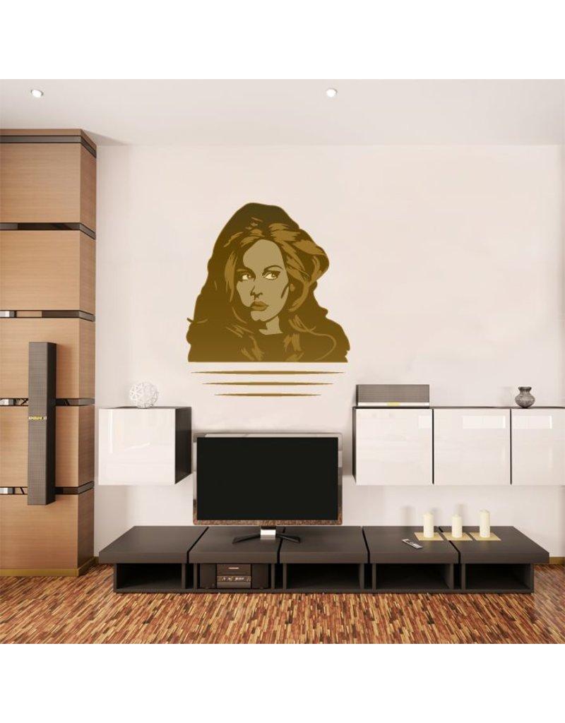 Muursticker Adele