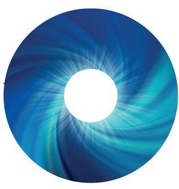 Spaakbeschermer sticker Abstract blauw 2