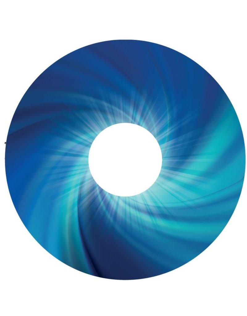 Spaakbeschermer Abstract blauw 2
