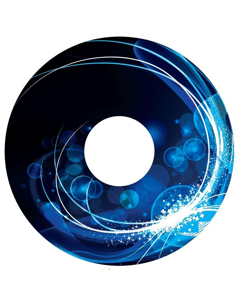 Spoke protector Abstract blue 1