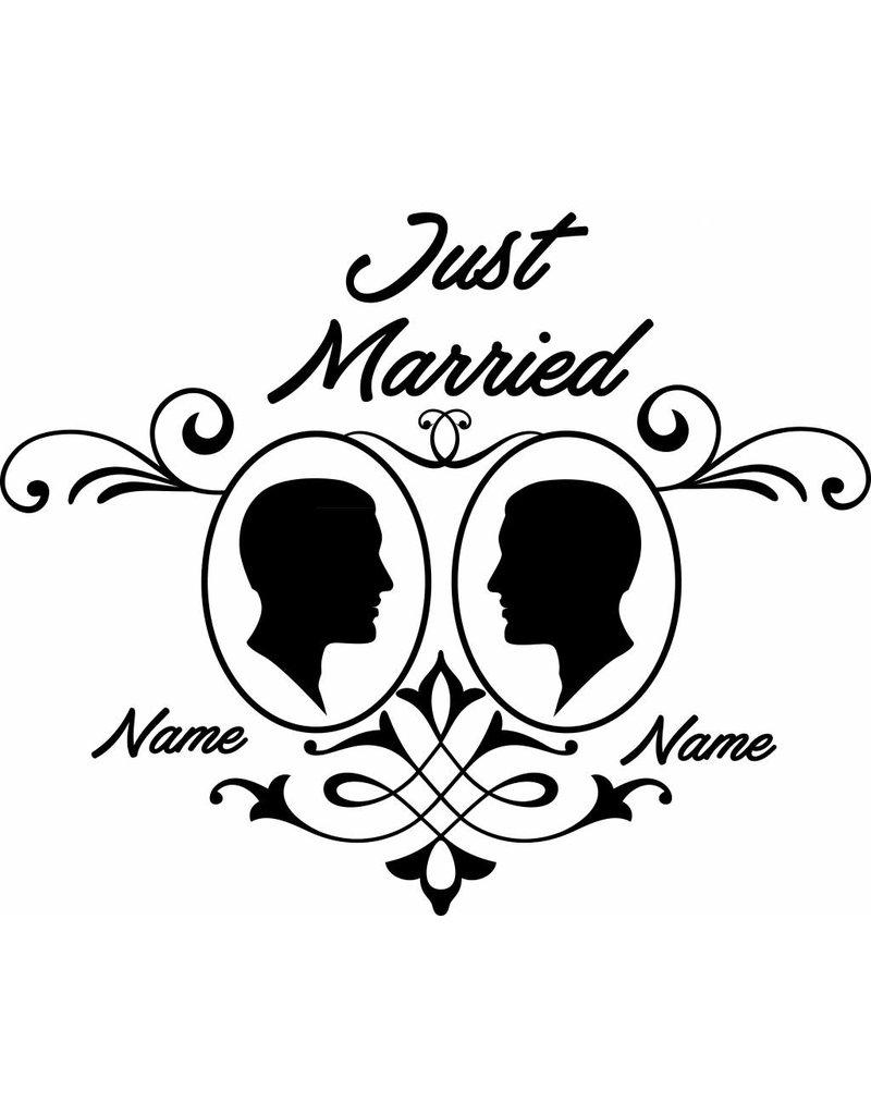 Wedding day - Framed couple 1