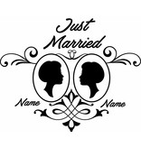 Wedding day - Framed couple 3
