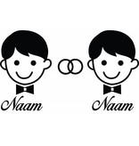 Anniversaire - Man & homme avec anneaux