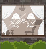 Wedding Day - Frau & Frau mit Ringen