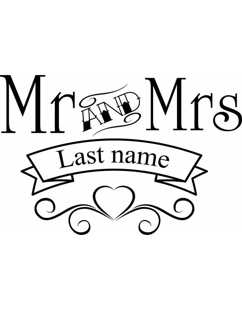 Aniversario - Sr. y Sra.