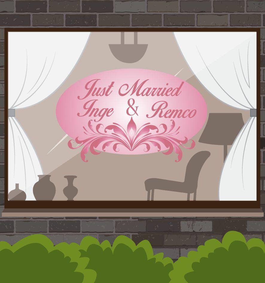 Aniversario - los ornamentos rosados adornados
