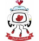 Jour de mariage - voiture de mariage