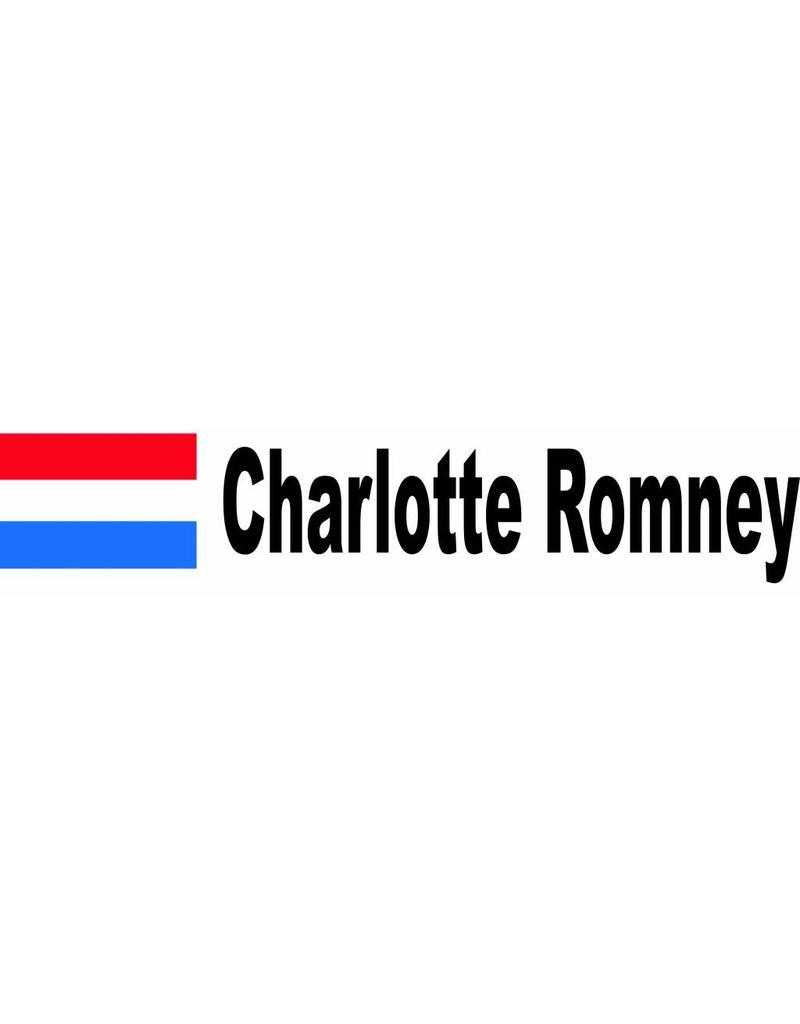 Rallyvlag met naam Nederland