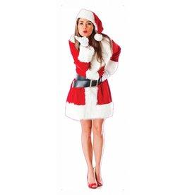 Pegatina mujer de navidad XXL