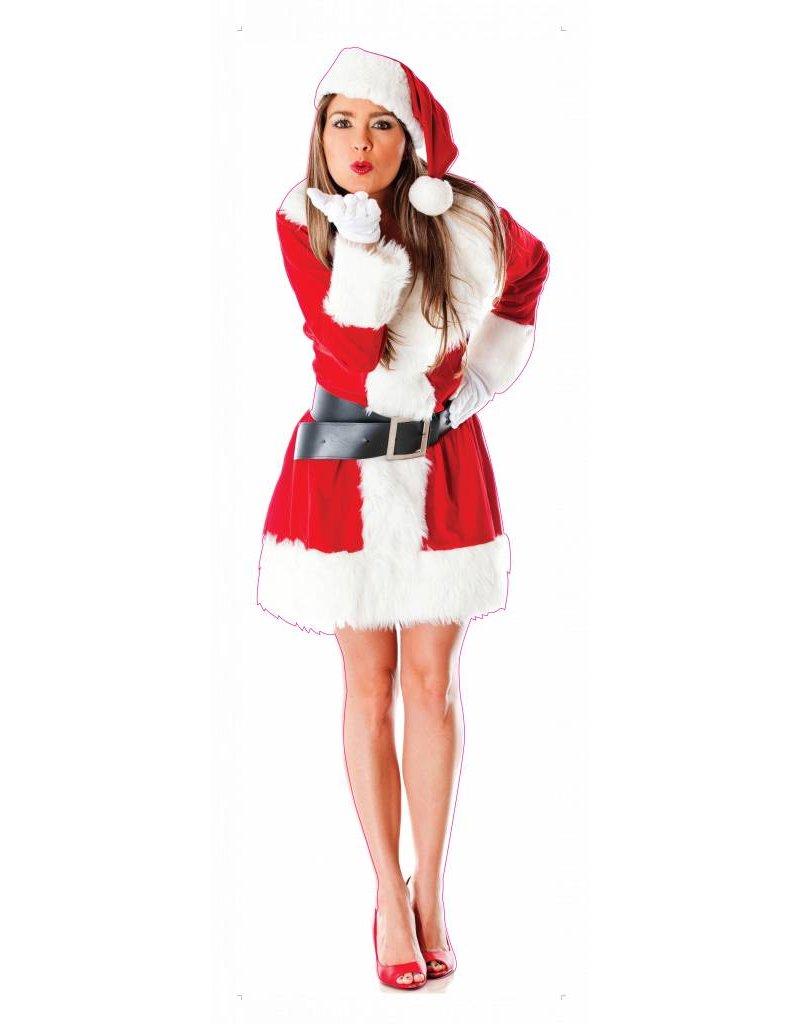Weihnachtsfrau XXL Aufkleber