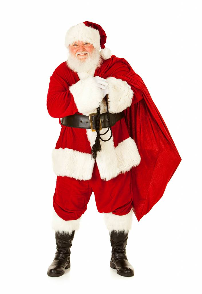 Weihnachtsmann XXL Aufkleber