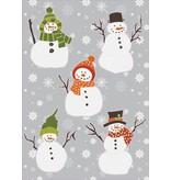 Pegatinas Navidad muñeco de nieve