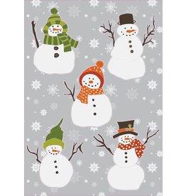 Noël bonhommes de neige autocollants
