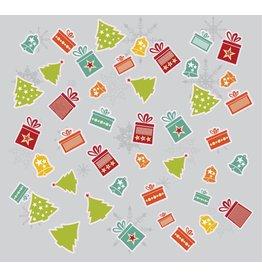 Weihnachten Stickerbogen
