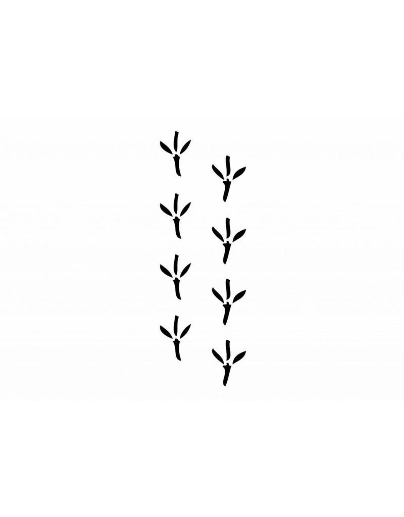 Patas de animales pájaro