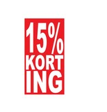 Rectangular 15% sale Sticker