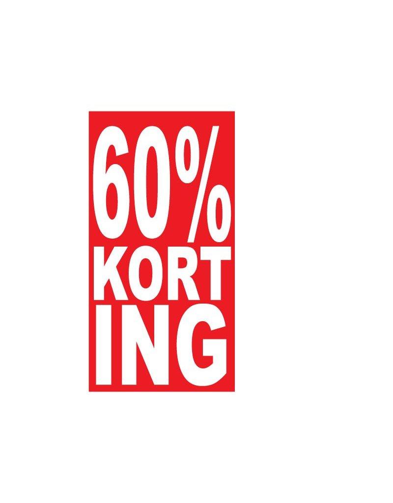 Autocollant rectangulaire 60% korting