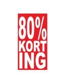 Rectangular 80% sale Sticker