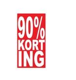 Rectangular 90% sale Sticker