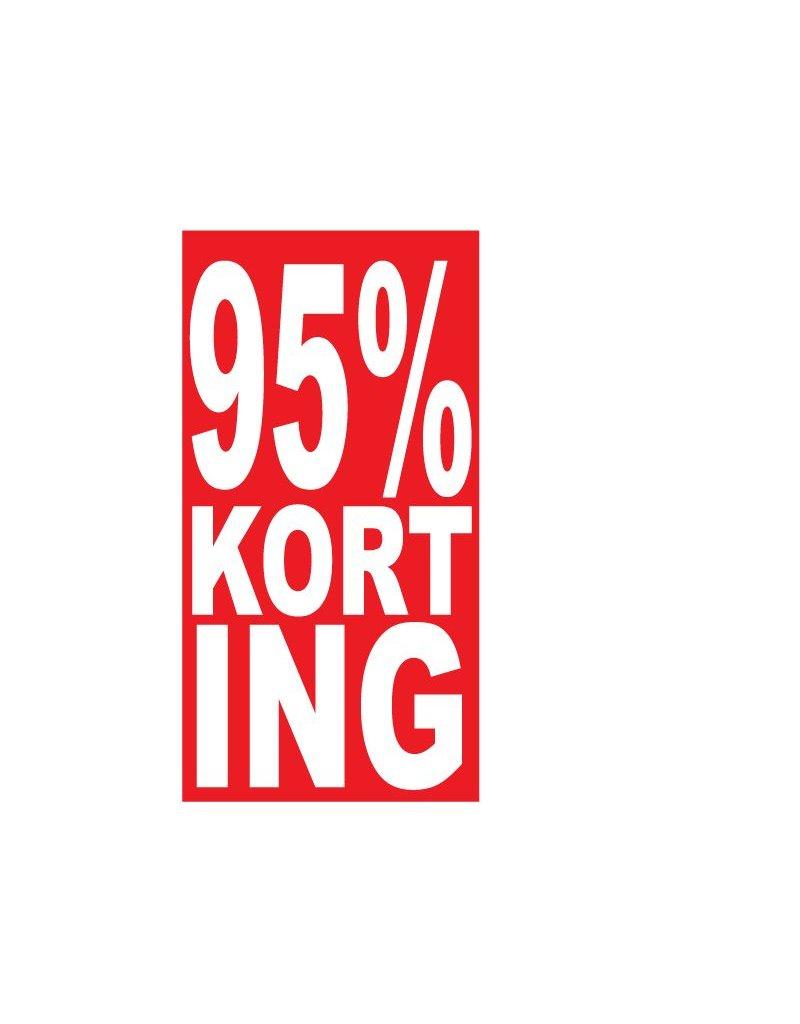 Pegatina rectangular 95% descuento