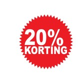 Circular 20% sale Sticker