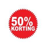 Circular 50% sale Sticker