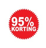 Autocollant circulaire 95% korting