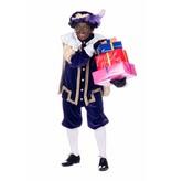 Zwarte Piet met pakjes Sticker XXL