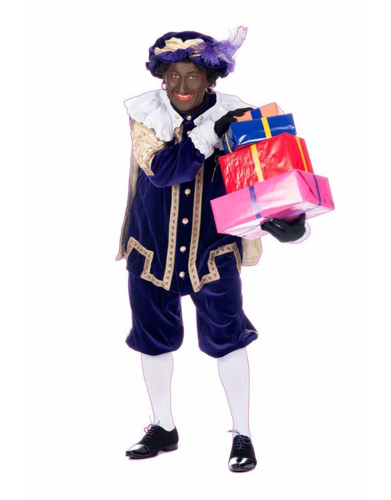 Zwarte Piet met pakjes Sticker