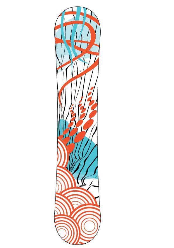 Snowboard Sticker3