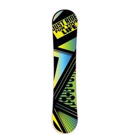 Abstrakt Snowboard Sticker