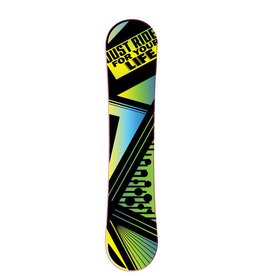 Autocollant de snowboard ride for your life
