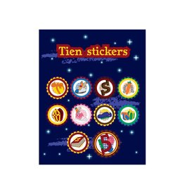 Sinterklaas Stickervel