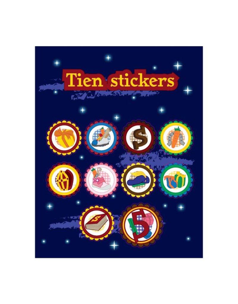 Sinterklaas Stickervel