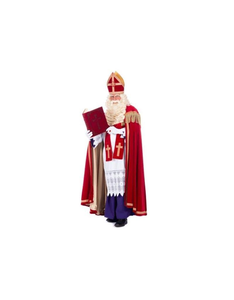 Sinterklaas met boek Sticker