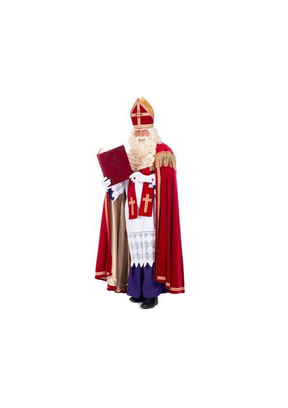 Saint Nicolas avec livre autocollant