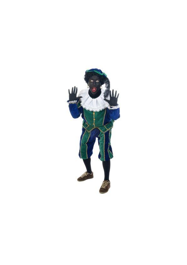 Zwarte Piet sticker XXL