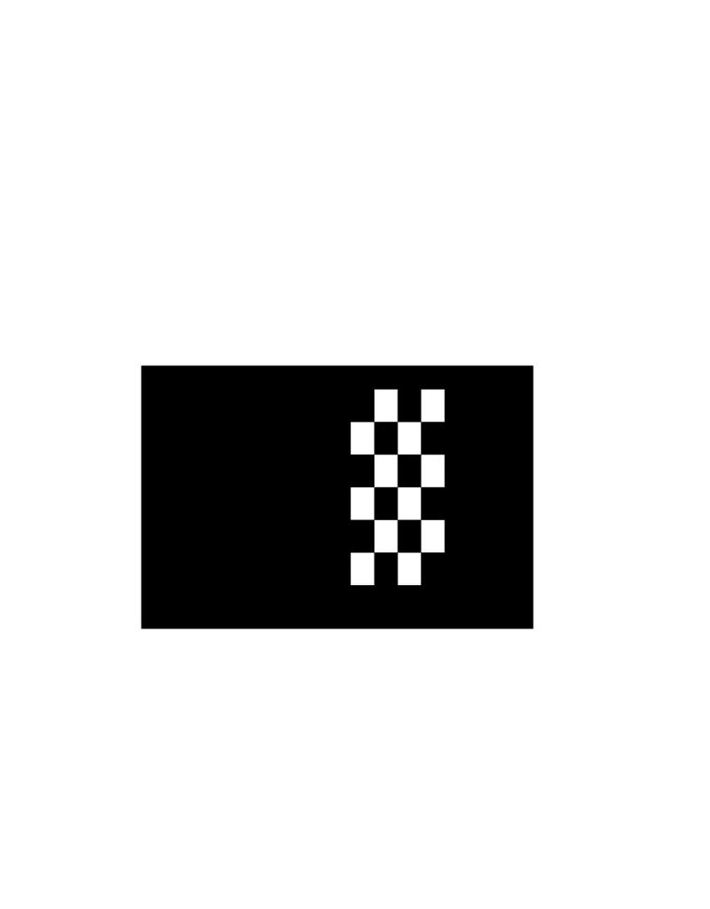 Motorhauben Sticker Rennflagge