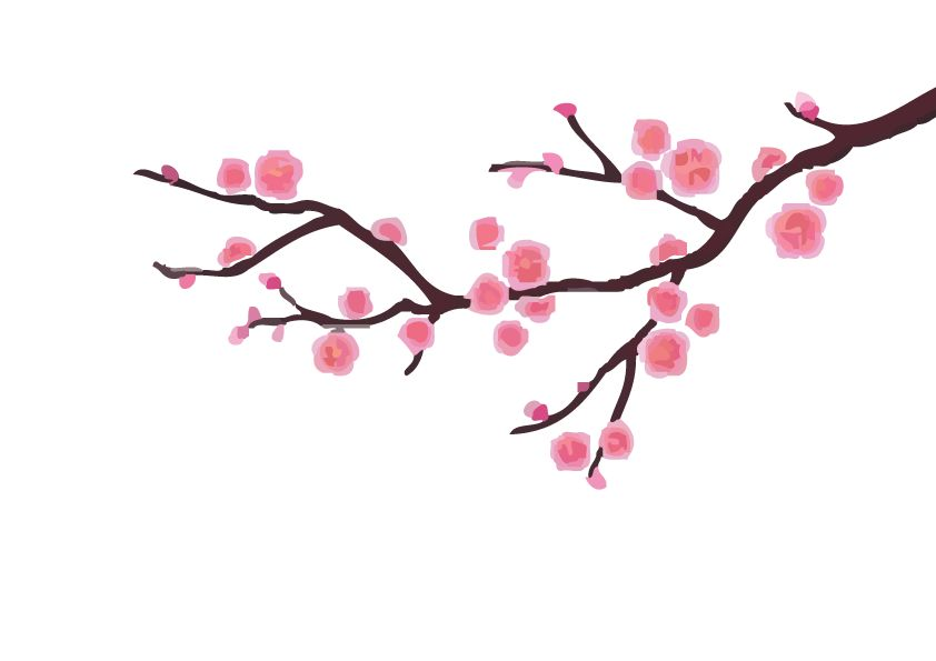 Decoratie Sakura Sticker Dr Sticker