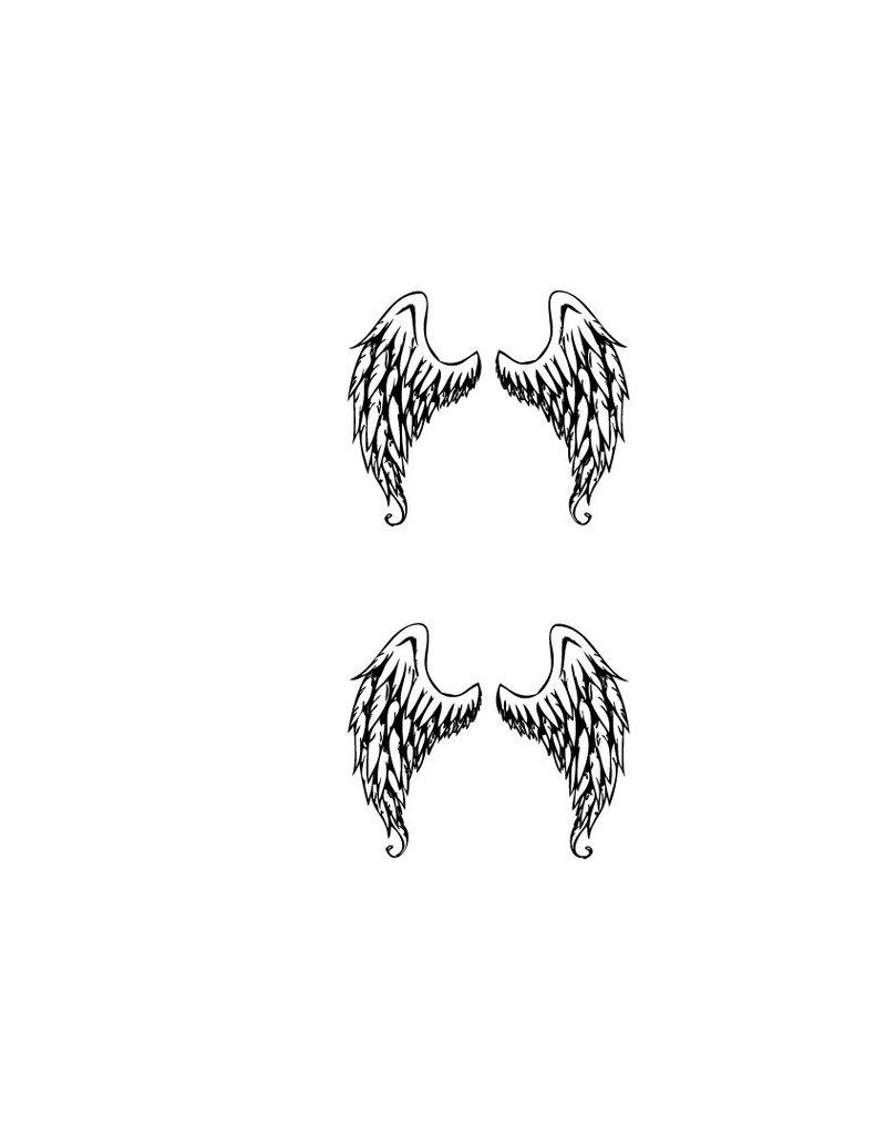Décoration Angel wings autocollant