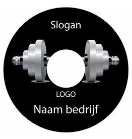 Spaakbeschermer sticker fitness 1