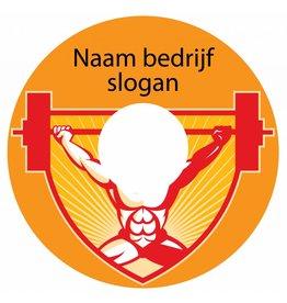 Spaakbeschermer sticker fitness 2
