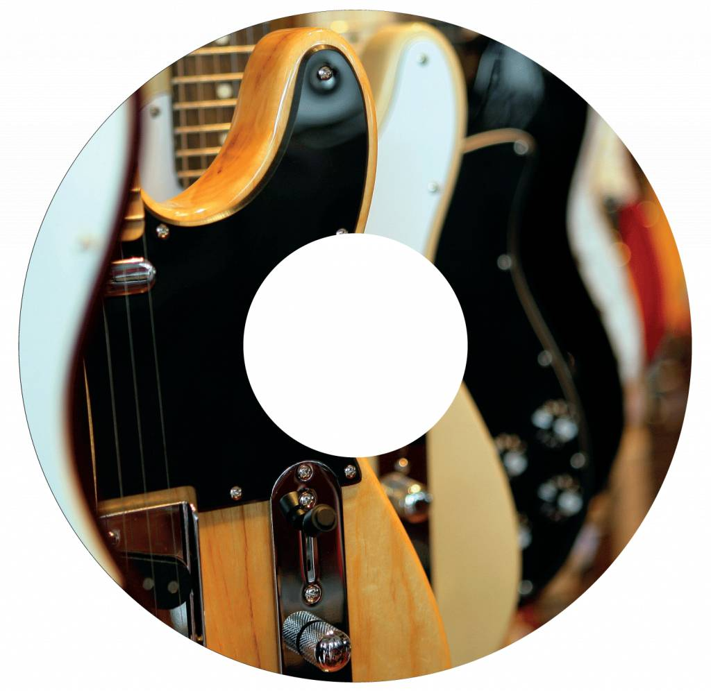 Spoke protector  sticker Guitar