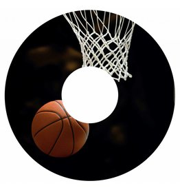 Spaakbeschermer sticker Basketbal 2